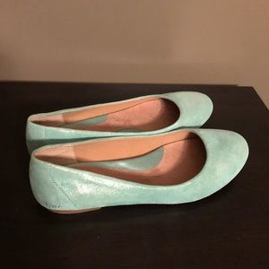 B.o.c. flats with shimmer, size 9